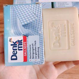 """兩顆一組""""德國 DM Denkmit Gallseife 牛膽汁 強力去污去漬洗衣皂100g~100%純植物油提煉"""