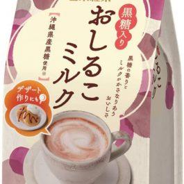 """沖繩黑糖""""日本 日東黑糖紅豆牛奶粉 100g/包~女孩兒無法招架 北海道全脂奶粉x黑糖-"""