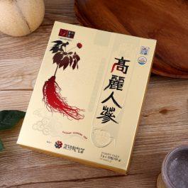 """入秋養身必備""""韓國協會認證 高麗人蔘茶 盒裝 (50入) 150g 人參茶"""