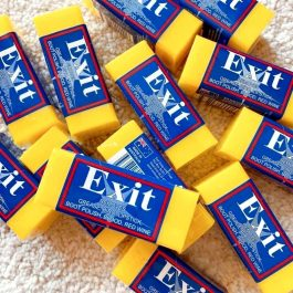 """口紅印消除""""澳洲 Exit Soap 神奇肥皂 超強去漬皂 50g一入~去污/洗衣/清潔 純植物皂基 安全不傷手"""