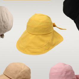 """拒絕阿嬤感""""日本同款 抗UV百搭防曬帽~遮陽大帽沿 顯臉"""