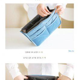 """旅行外出必須有""""折疊收納 韓國多功能包中包~超大容量 可手提"""