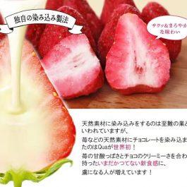 """草莓白巧一口吃""""日本 QUA 白巧克力50g/包~季節限定!醇厚香甜x新鮮草莓酸甜"""