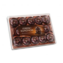 """浪漫與美好的代名詞""""德國 Ferrero 朗莎頂級黑金莎巧克力禮盒 14顆入~頂級美味不能錯過"""