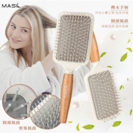韓國MASIL 會呼吸的 氣墊按摩梳~喚醒頭皮 煥活髮絲
